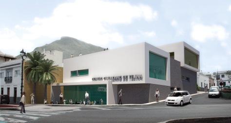 Centro Ciudadano Tejina - infografía