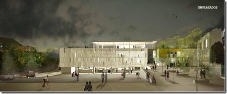 infografía proyecto ganador mercado - acceso nuevo plaza barranco