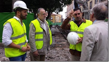 visita obra Plaza Catedral - arqueología ULL (1)