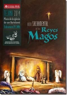 cartel A3 reyes Tejina 2014