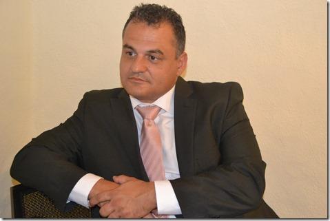 José Alberto Díaz, concejal de Seguridad