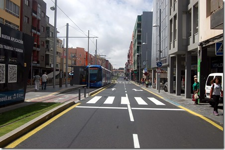 mejora vial Avenida Trinidad - carril salida ciudad terminado