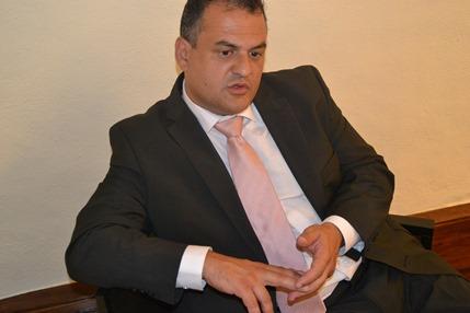 José Alberto Díaz, concejal de Seguridad Ciudadana y Movilidad