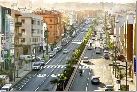 Avda. de Los Menceyes - La Cuesta - economía local