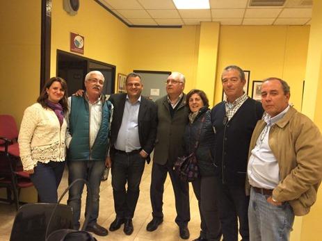 reunión candidato de CC cn Asociacion Vecinos del Casco
