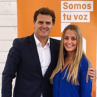 Teresa y Albert Rivera