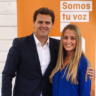 Teresa y Albert Rivera