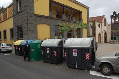 Nuevos puntos reciclaje