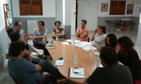 Reunión ediles comarca