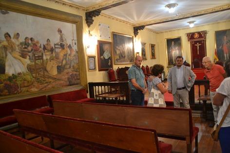 Visita Cabrera Pinto Las Uveras