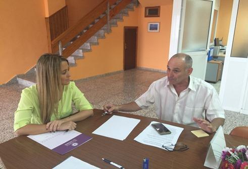 C´s en La Laguna se reune con el presidente de Radio Taxi
