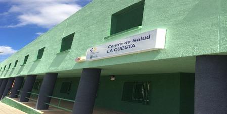 Fachada del Centro de Salud de La Cuesta