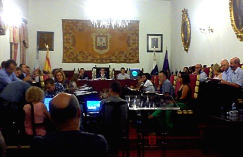Pleno La Laguna octubre 2015