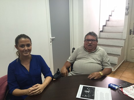Reunión de C´s La Laguna con la Coordinadora de Personas con Discapacidad