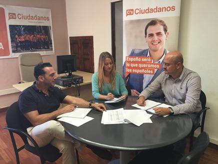 Reunión ediles de C´s en El Rosario, Santa Cruz de Tenerife y La Laguna