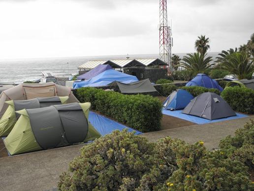 Camping La Punta general
