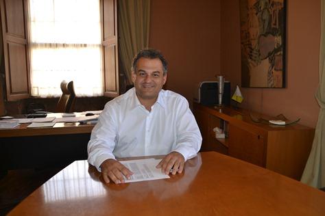 José Alberto Díaz, alcalde de La Laguna