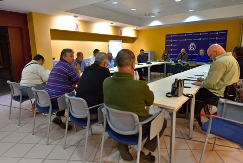 Parque Rural Anaga-Reunión Junta Rectora