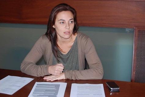Cande Díaz, concejal de Tributos