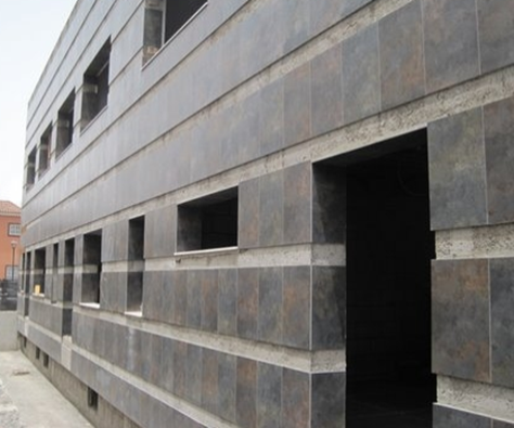 Fachada edificio CS La Laguna-Mercedes