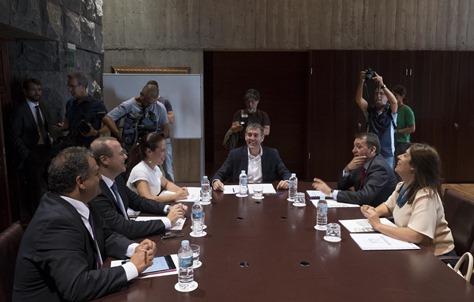 reunion de Alcaldes