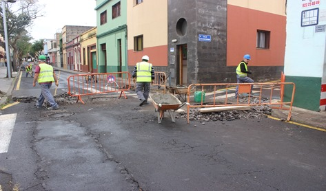 Obras en La Laguna de 2015